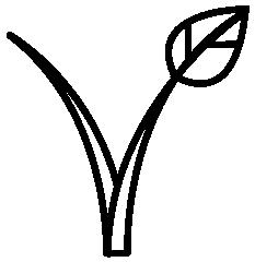 Zeva Organics vegan icon